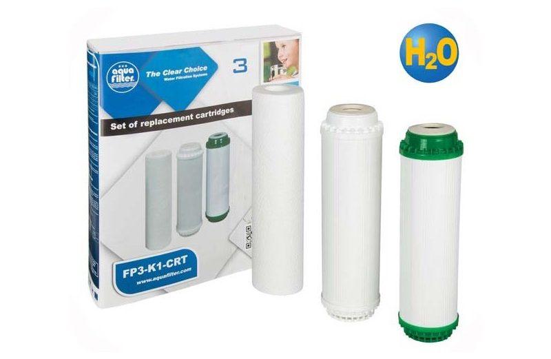 Комплект филтри FP3-K1-CRT за ултрафилтрация на вода